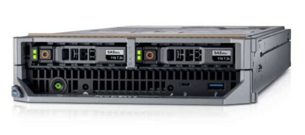 Dell PowerEdge M640 CTO Blade (for PE M1000e or VRTX) - With warranty and technical service for installation or support.