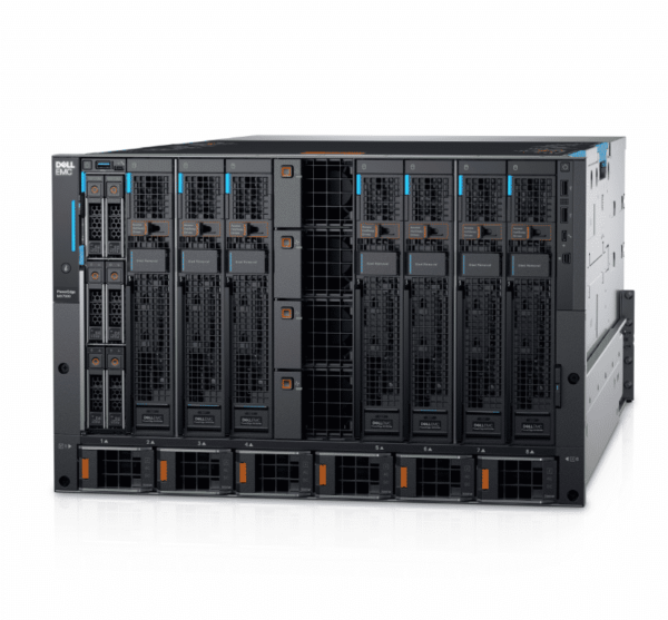 Dell PowerEdge M7000 CTO Chassis Enclousure Blade - With warranty and technical service for installation or support.