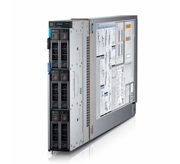 Dell PowerEdge M740c CTO Compute Sled Blade - With warranty and technical service for installation or support.