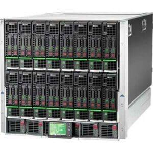 HPE BLC7000 CTO Blade Enclosure Platinum - Com garantia e serviço técnico para instalação ou suporte.