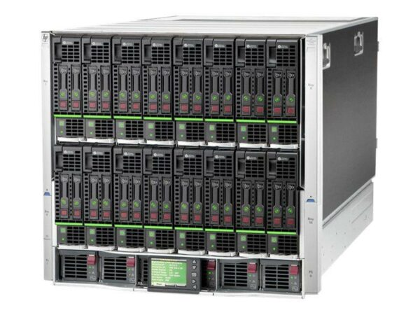 HPE BLC7000 CTO Blade Enclosure Platinum - With warranty and technical service for installation or support.