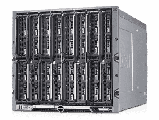 Blade DELL PowerEdge M1000e CTO Enclosure - With warranty and technical service for installation or support.