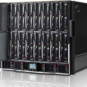 HPE BLC7000 CTO Blade Enclosure Model X - Com garantia e serviço técnico para instalação ou suporte.
