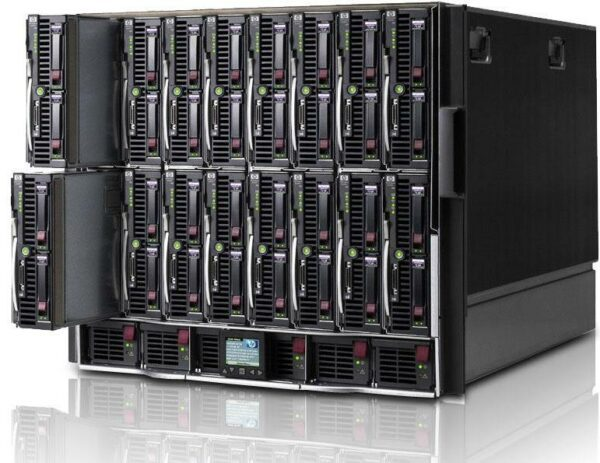 HPE BLC7000 CTO Blade Enclosure Model X - With warranty and technical service for installation or support.