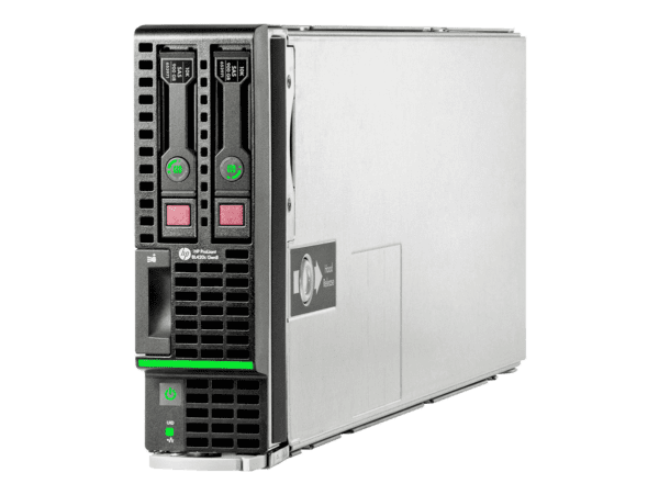 HPE ProLiant BL420c Gen8 CTO Server Blade - With warranty and technical service for installation or support.