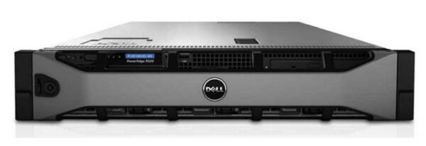 Dell PowerEdge R520 CTO Server - With warranty and technical service for installation or support.