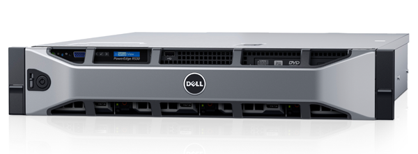Dell PowerEdge R530 CTO Server - With warranty and technical service for installation or support.
