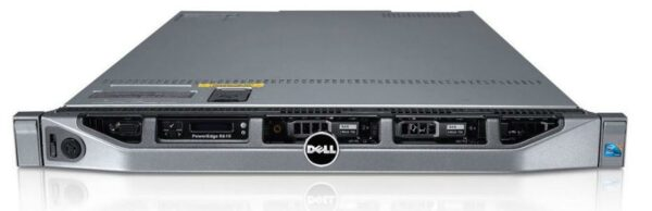 Dell PowerEdge R610 CTO Server - With warranty and technical service for installation or support.