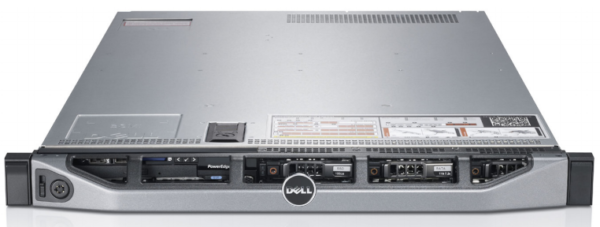Dell PowerEdge R620 CTO Server - With warranty and technical service for installation or support.