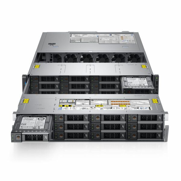 Dell PowerEdge R740xd2 CTO Server - With warranty and technical service for installation or support.