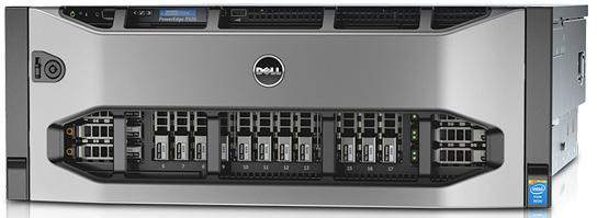 Dell PowerEdge R920 CTO Server - With warranty and technical service for installation or support.