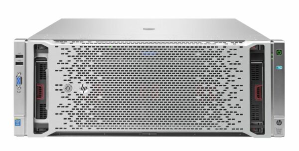HPE ProLiant DL580 Gen9 Server - With warranty and technical service for installation or support.